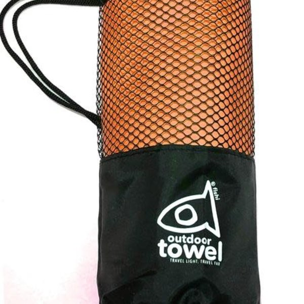 Fishi Microfiber Towel Orange