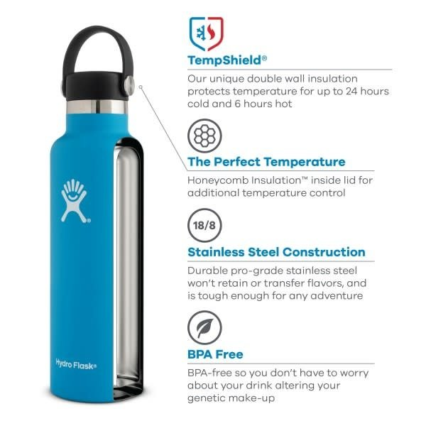 Hydroflask Hydro Flask Wide Mouth with Flip Lid