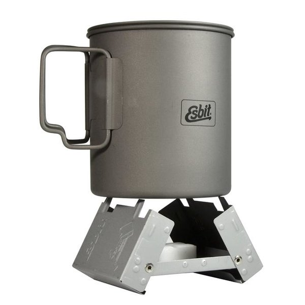 ESBIT POCKET STOVE w/ 6pc 14g