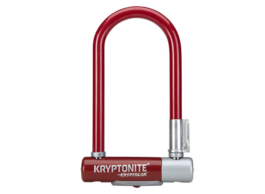 "Kryptonite KryptoLok Mini-7 Color Series Lock (3.25 x 7"")"