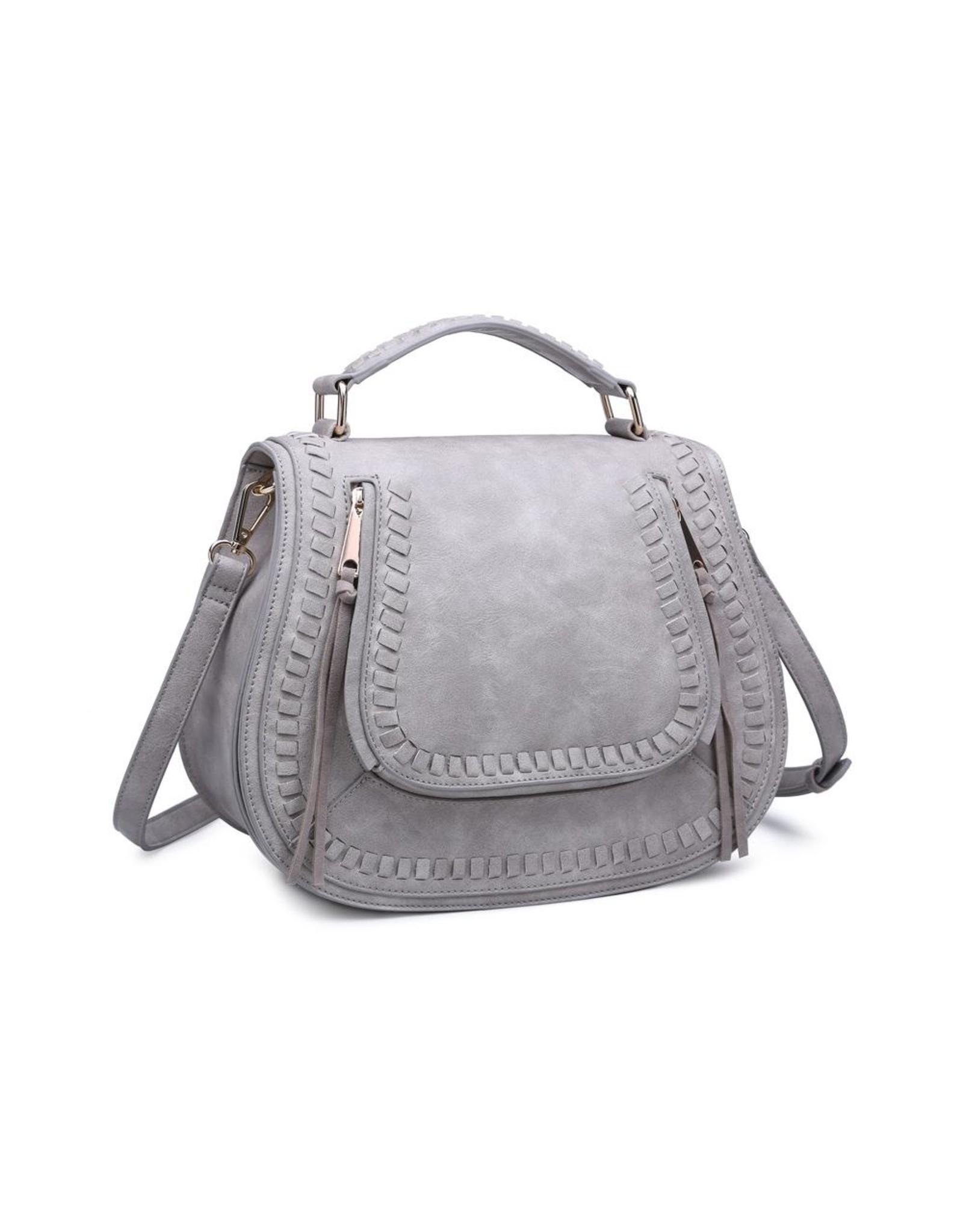 Khloe Crossbody Bag - Dove Grey