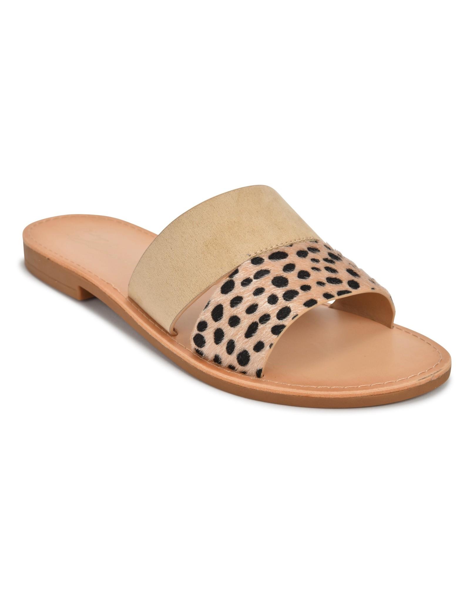 Luna Cheetah Sandals - Taupe