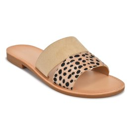 Luna Cheetah Sandals - Taupe