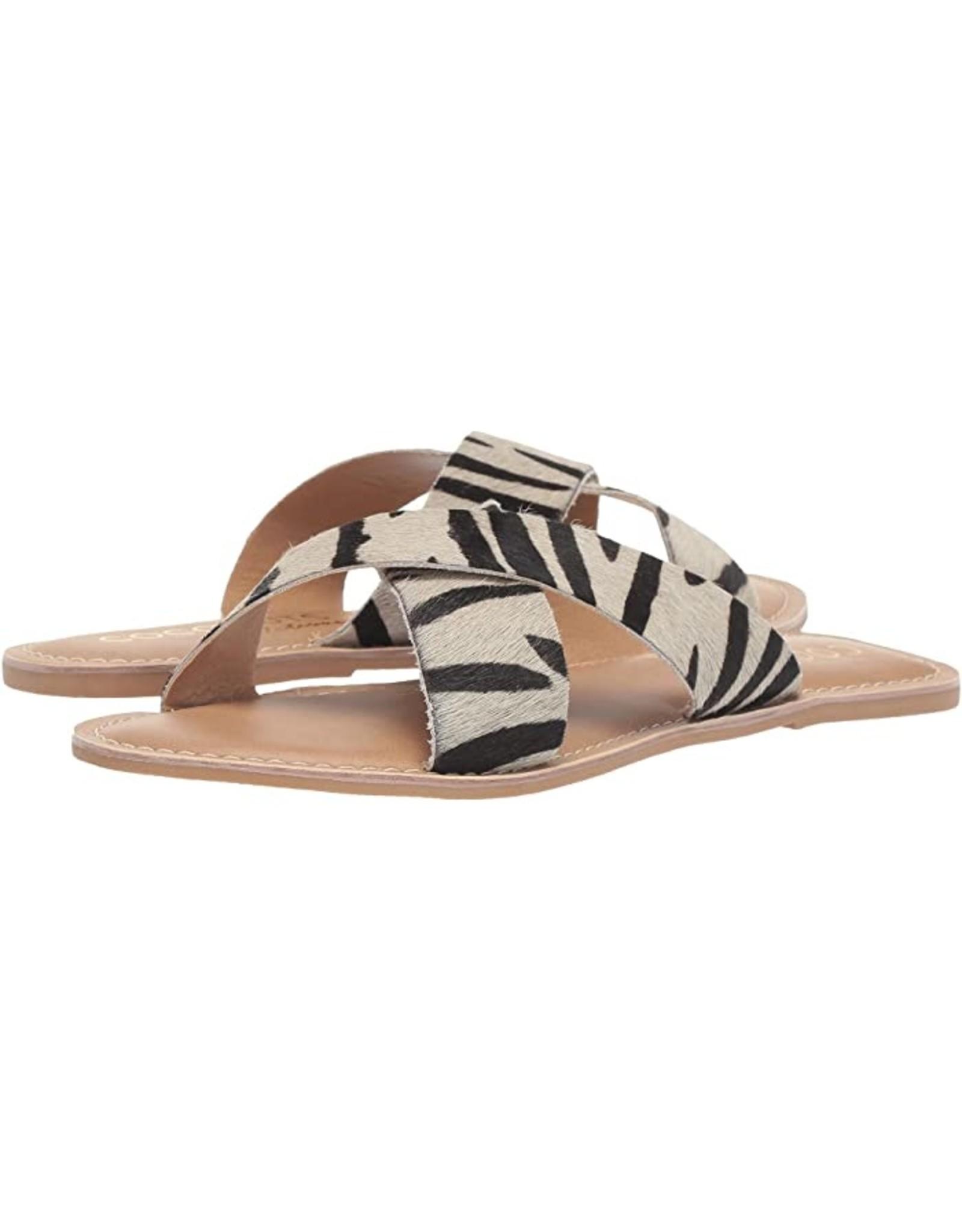 Pebble Zebra Sandals