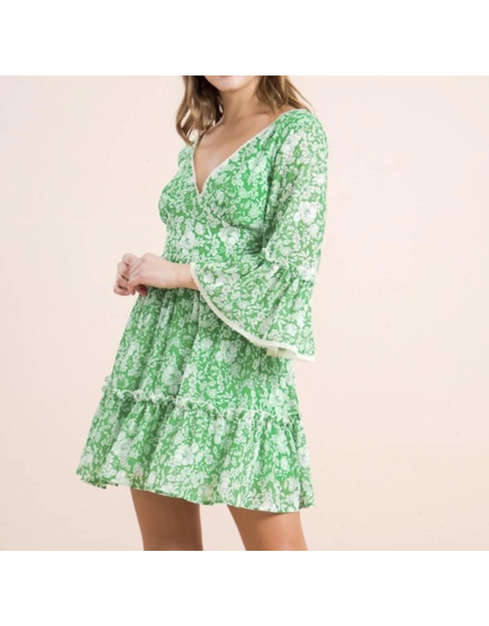 Boho Dress - Green