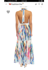 Rainbow Water Maxi Dress - Multi