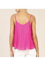 Pleated Top - Pink