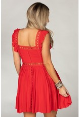 Buddy Love Adams Dress - Red