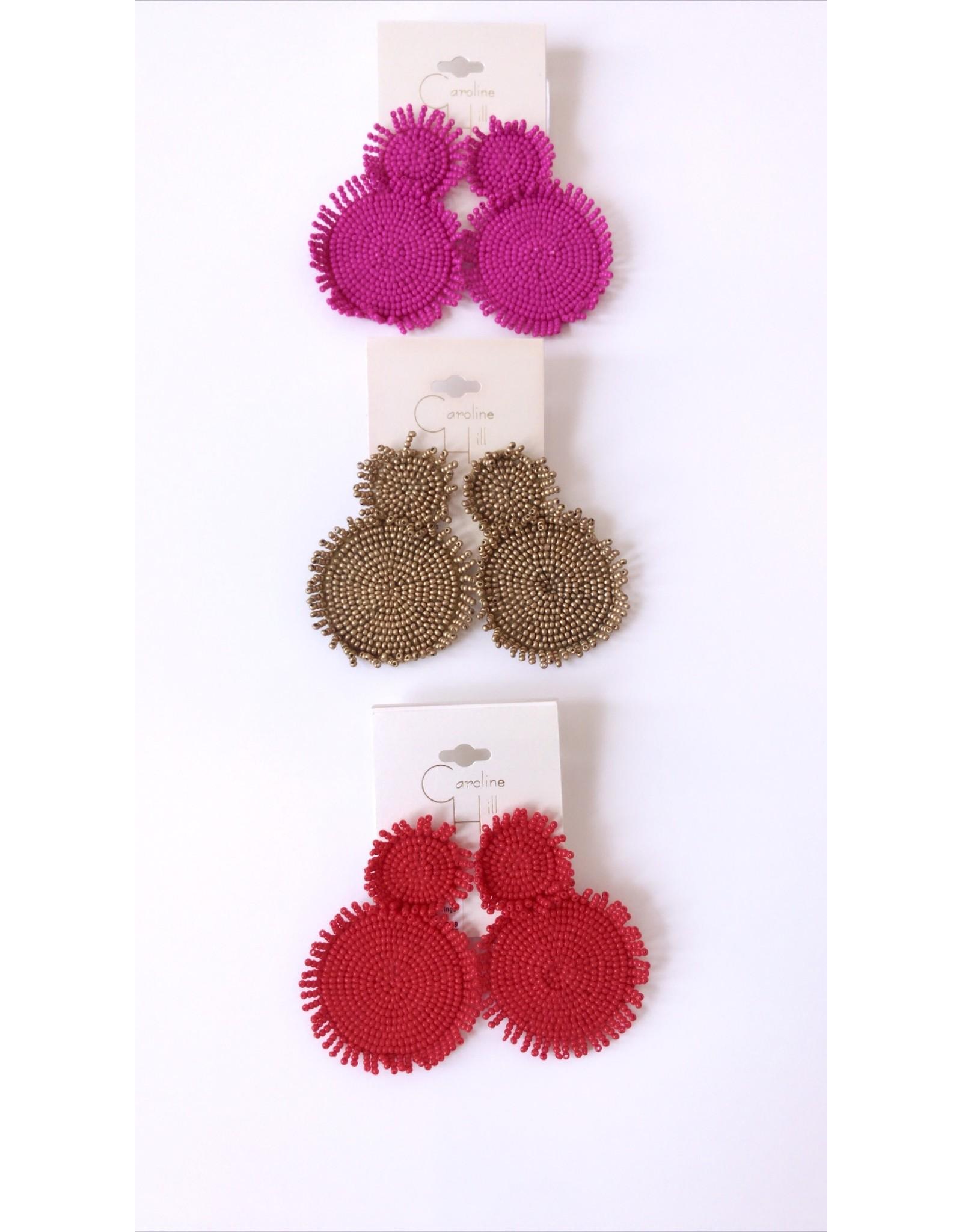 Double Seed Bead Earrings