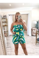 Tropical Shorts - Green