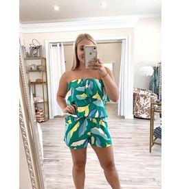Tropical Shorts - Green