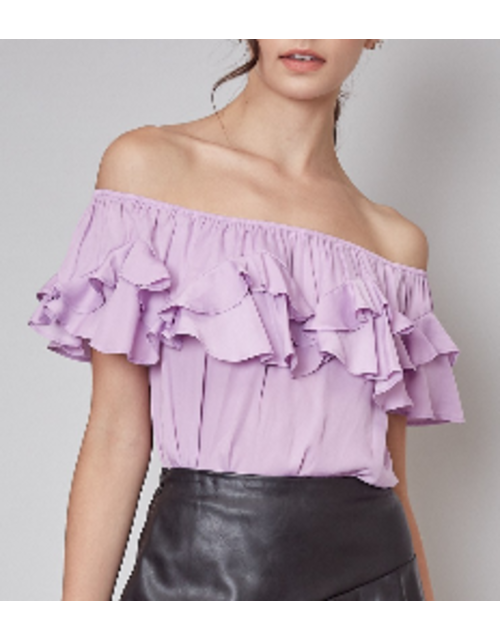 Ruffle Detail Off Shoulders Top - Lily
