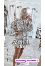 Buddy Love  Zozo Titanium Dress