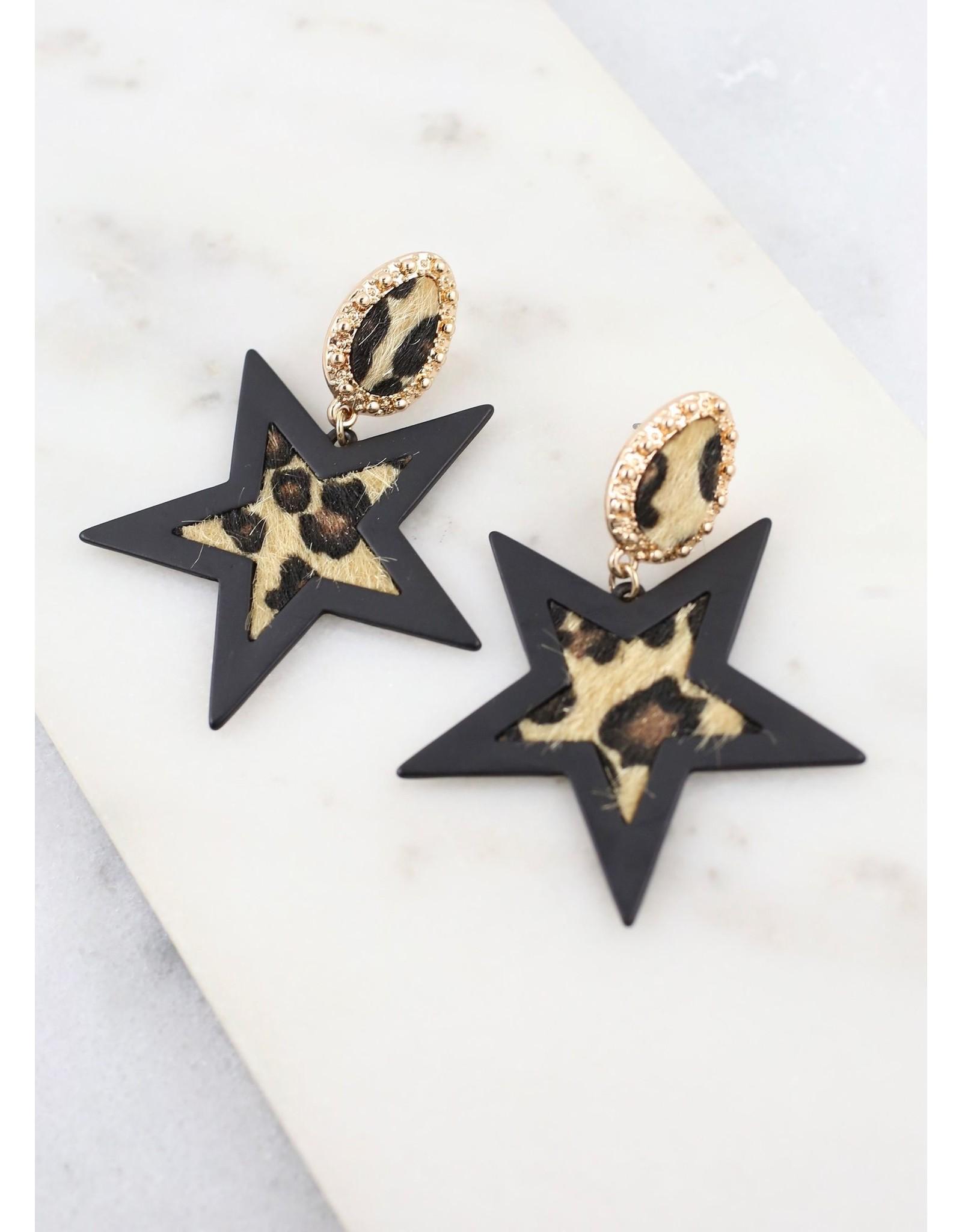 Lerner Star Post Earrings