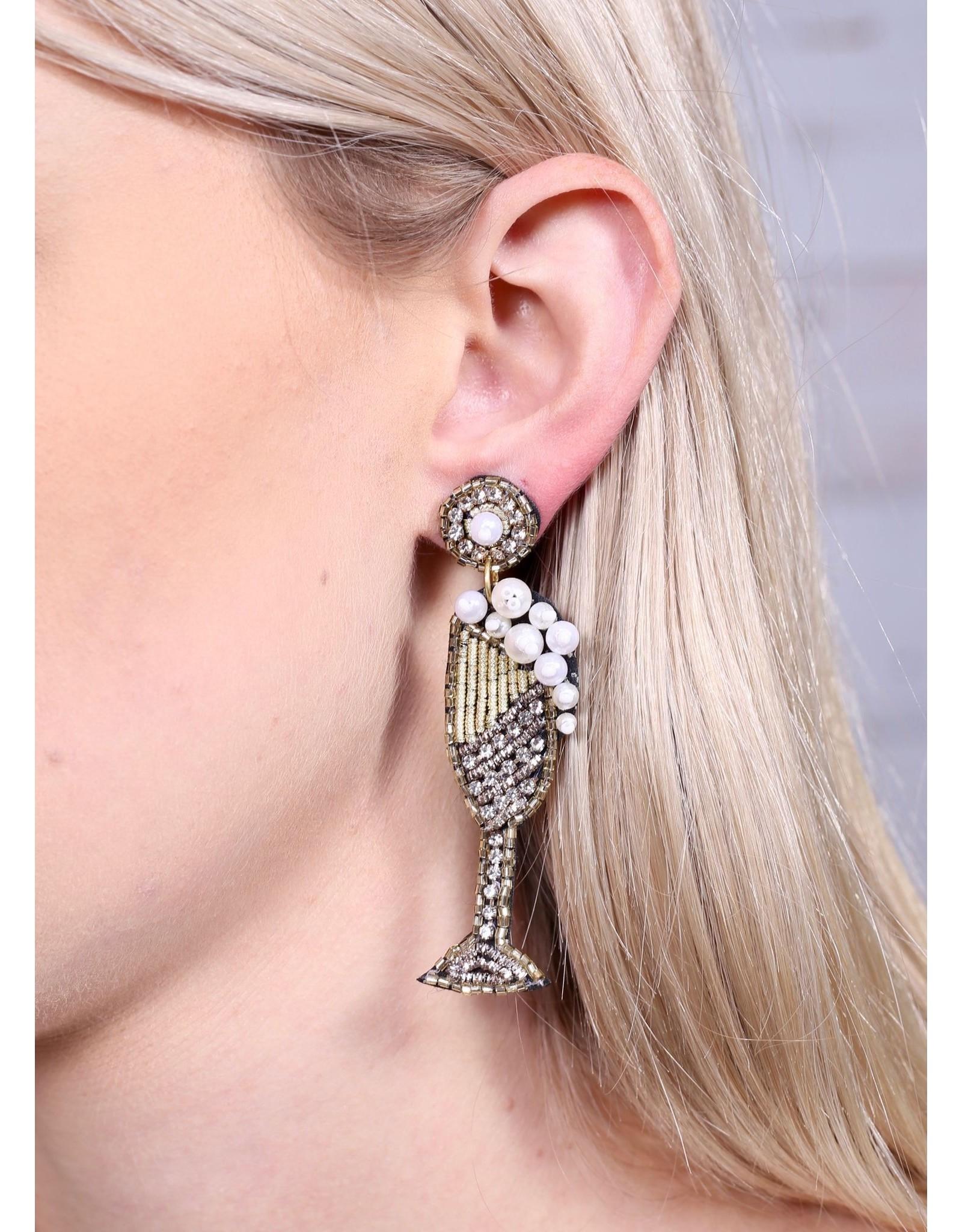 Champagne Earrings