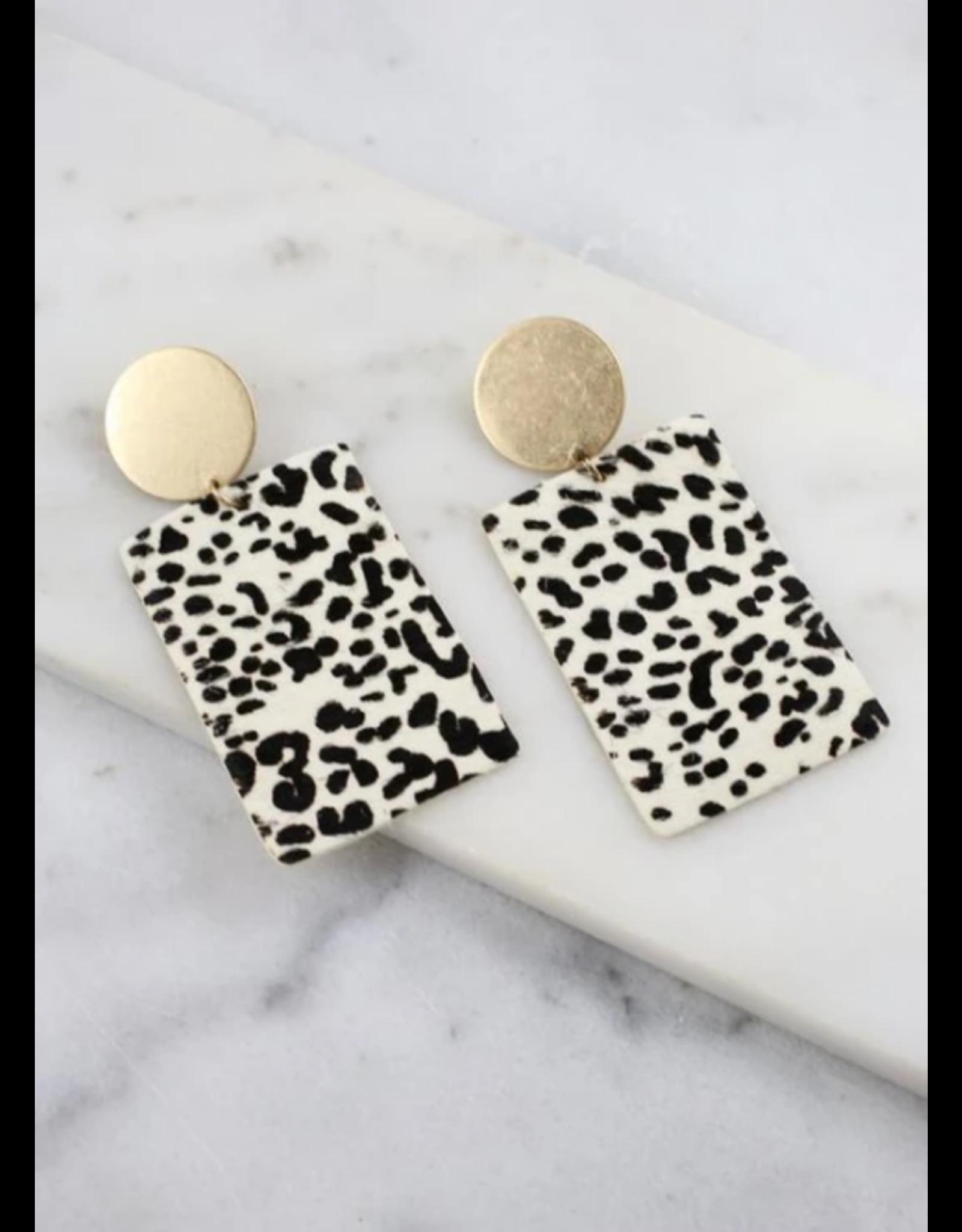 Beverly Leopard Earrings
