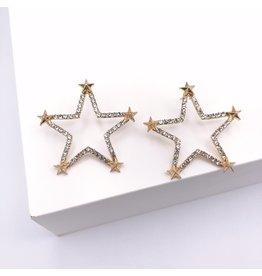 Treasure Jewels Twinkle Little Star Earrings