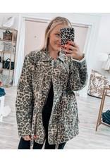 Leopard Twill Jacket