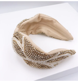 Treasure Jewels Diane Pearl Headband