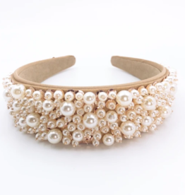 Treasure Jewels Pearl Queen Headband