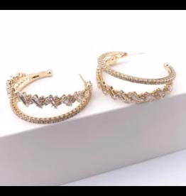 Treasure Jewels Everly Crystal Earrings