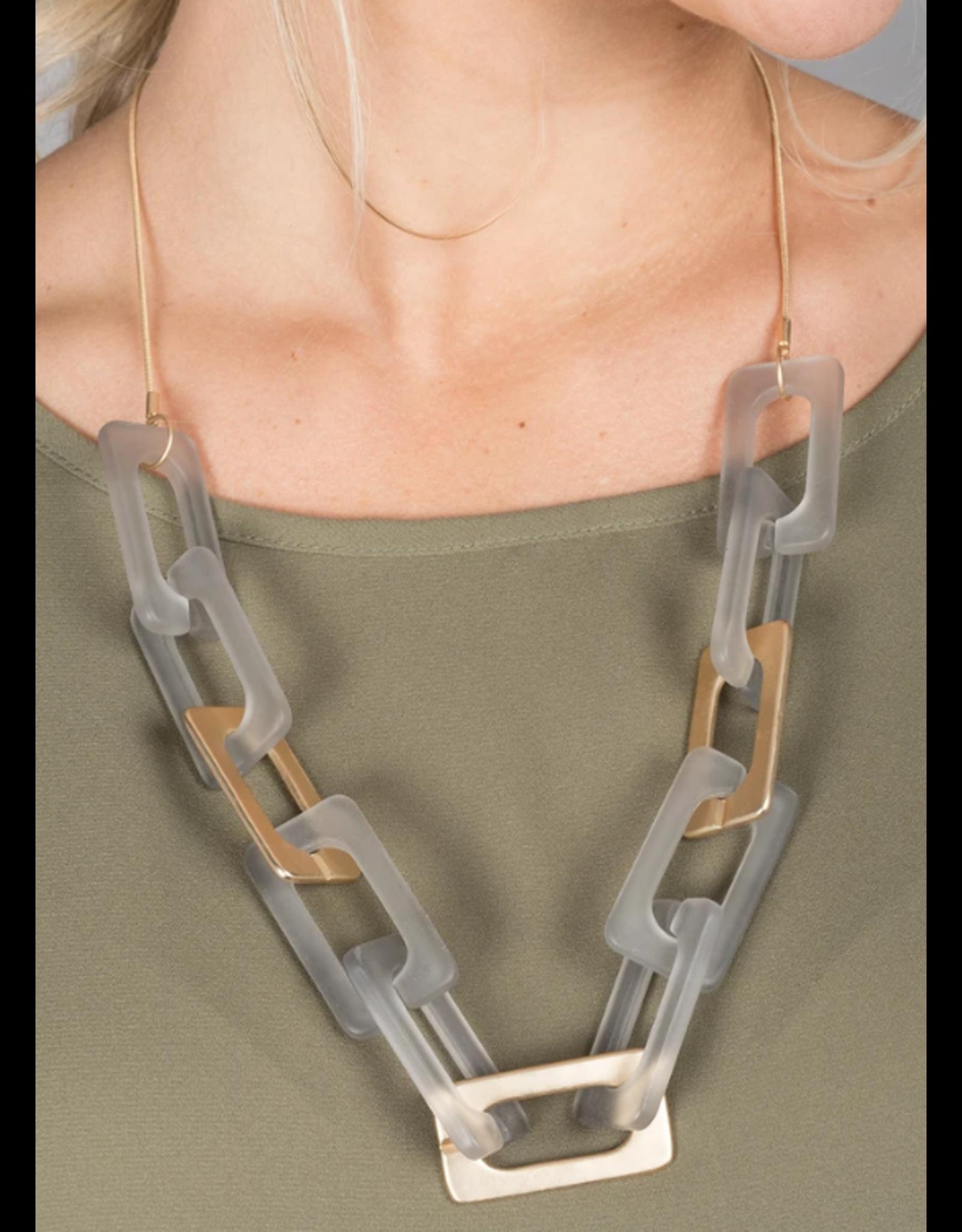 Matte Fine Necklace