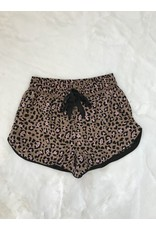 Z Supply Z Supply Lounge Leopard PJ Shorts