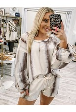 Tie Dye 2PC Set - Mocha