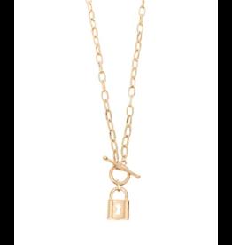 My Girl LA Kandi Lock Necklace