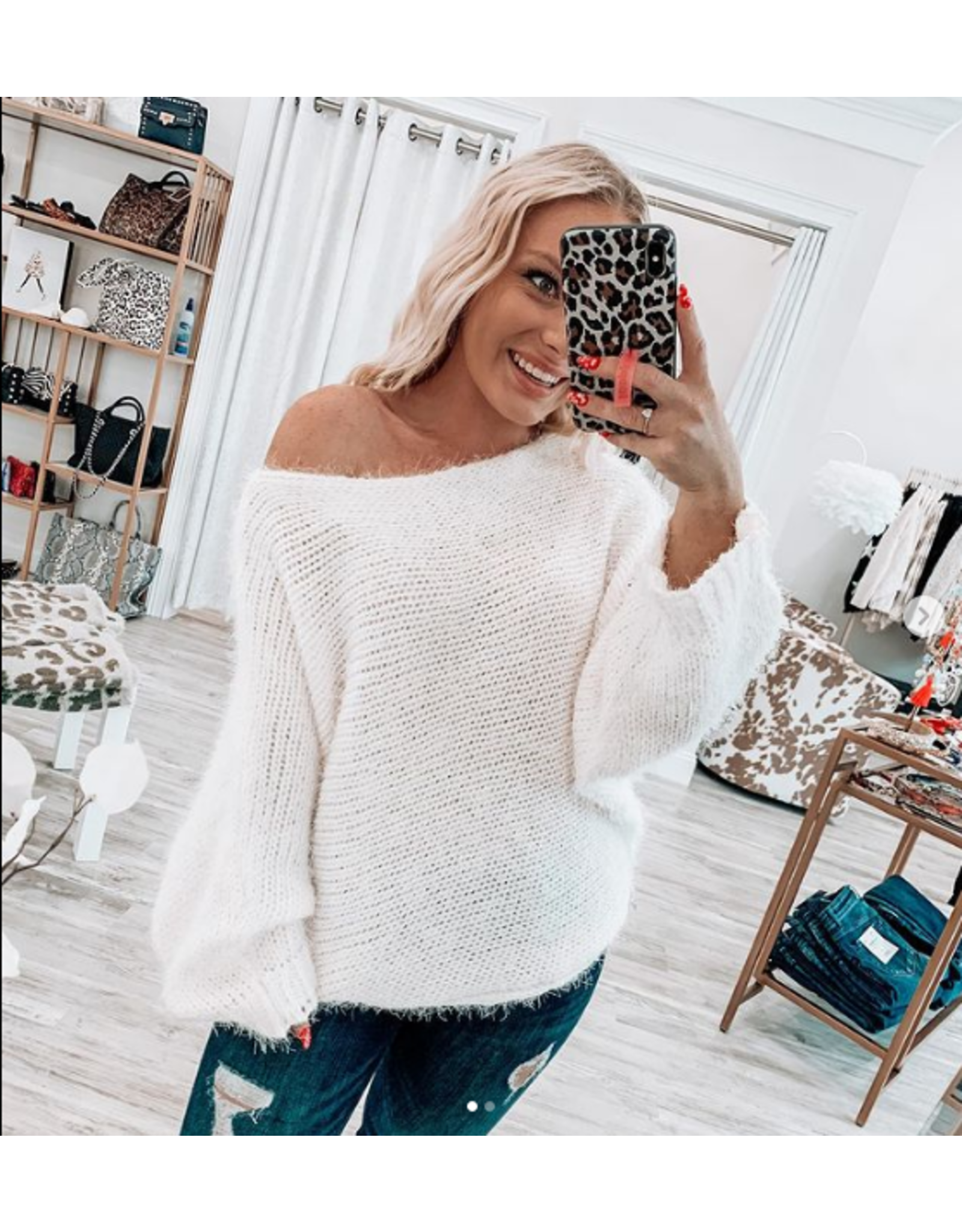 Dolman Sleeves Sweater
