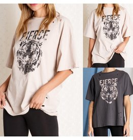 Beavely Fierce Oversized Tee