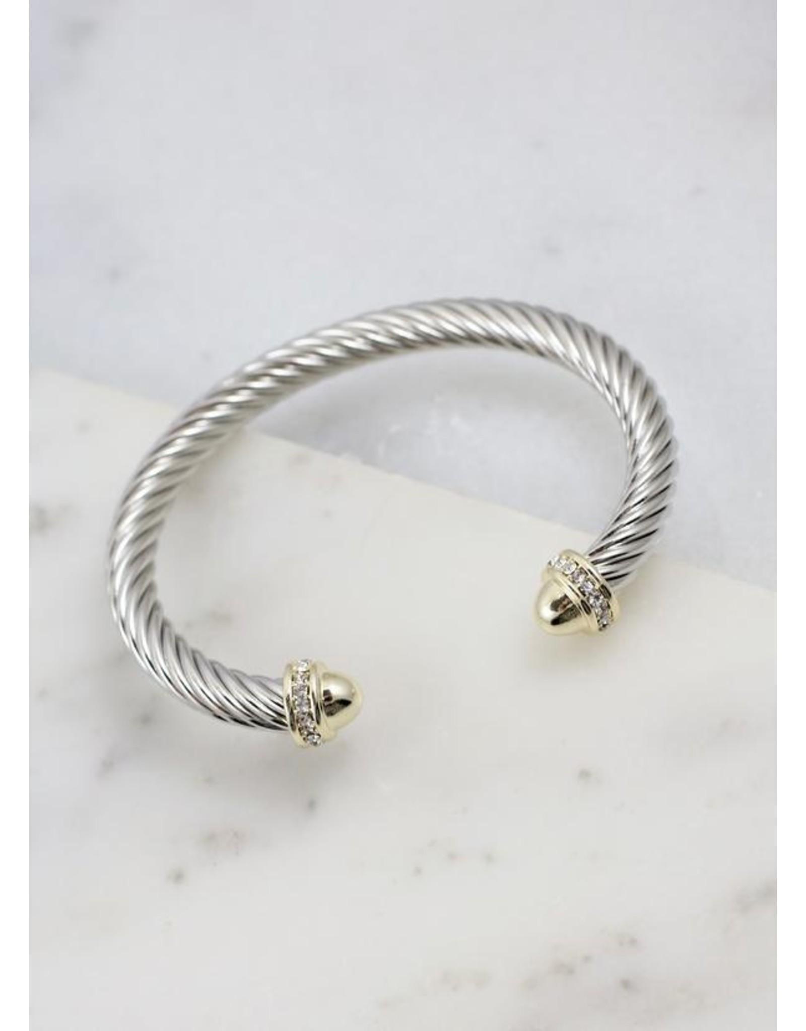 Becks Two Tone Bracelet