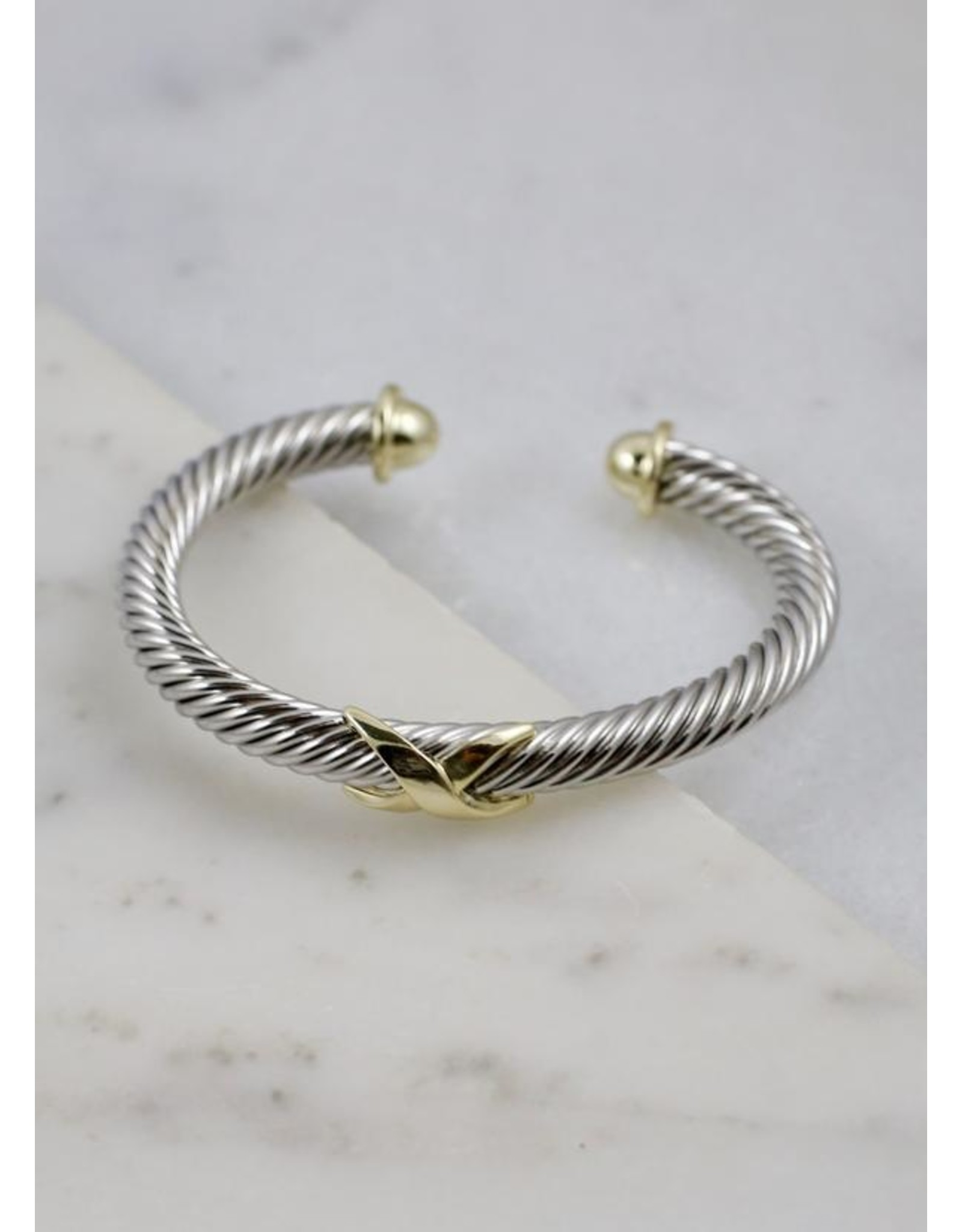 Knoxy Two Tone Bracelet