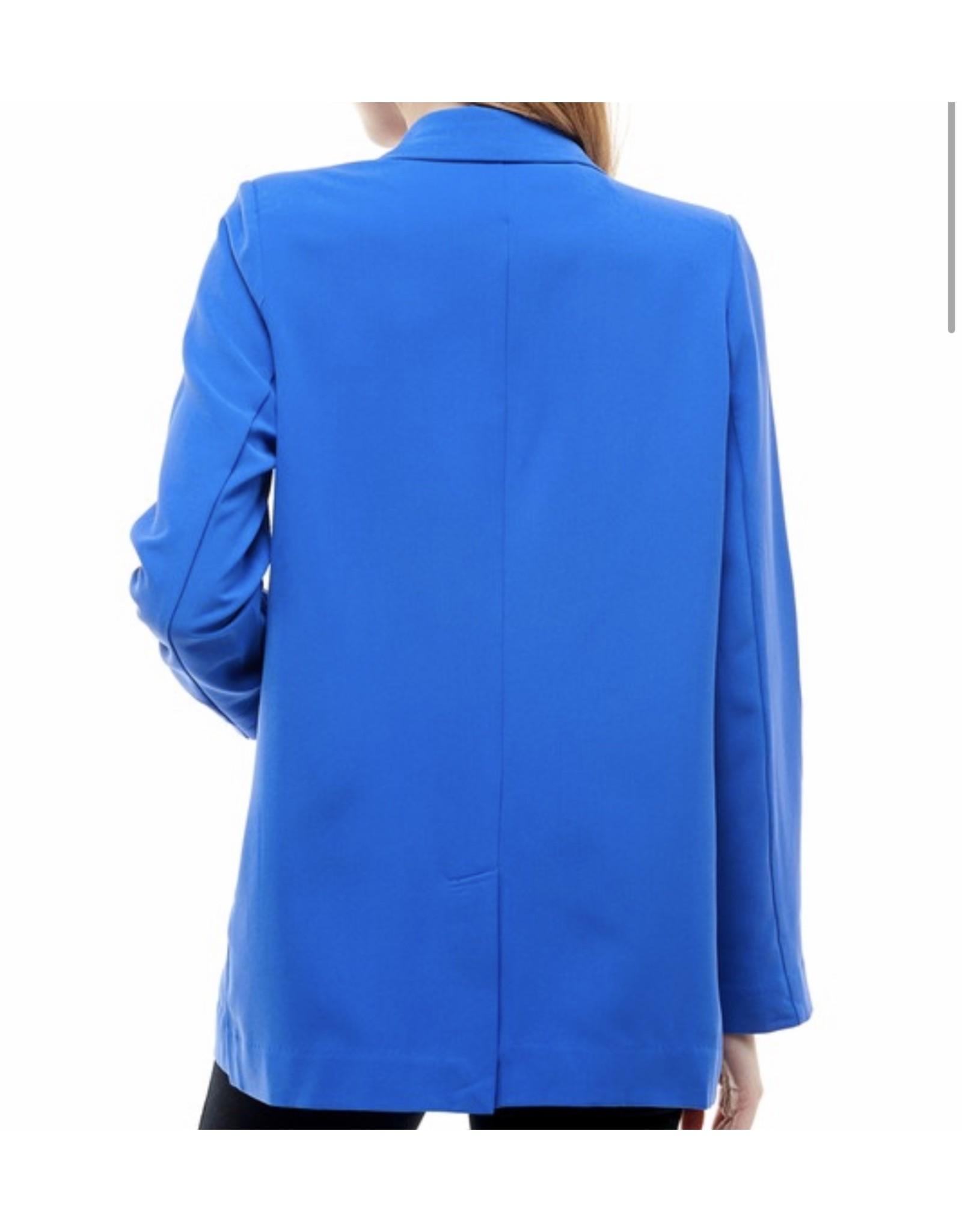 Lightweight Blazer - Royal Blue