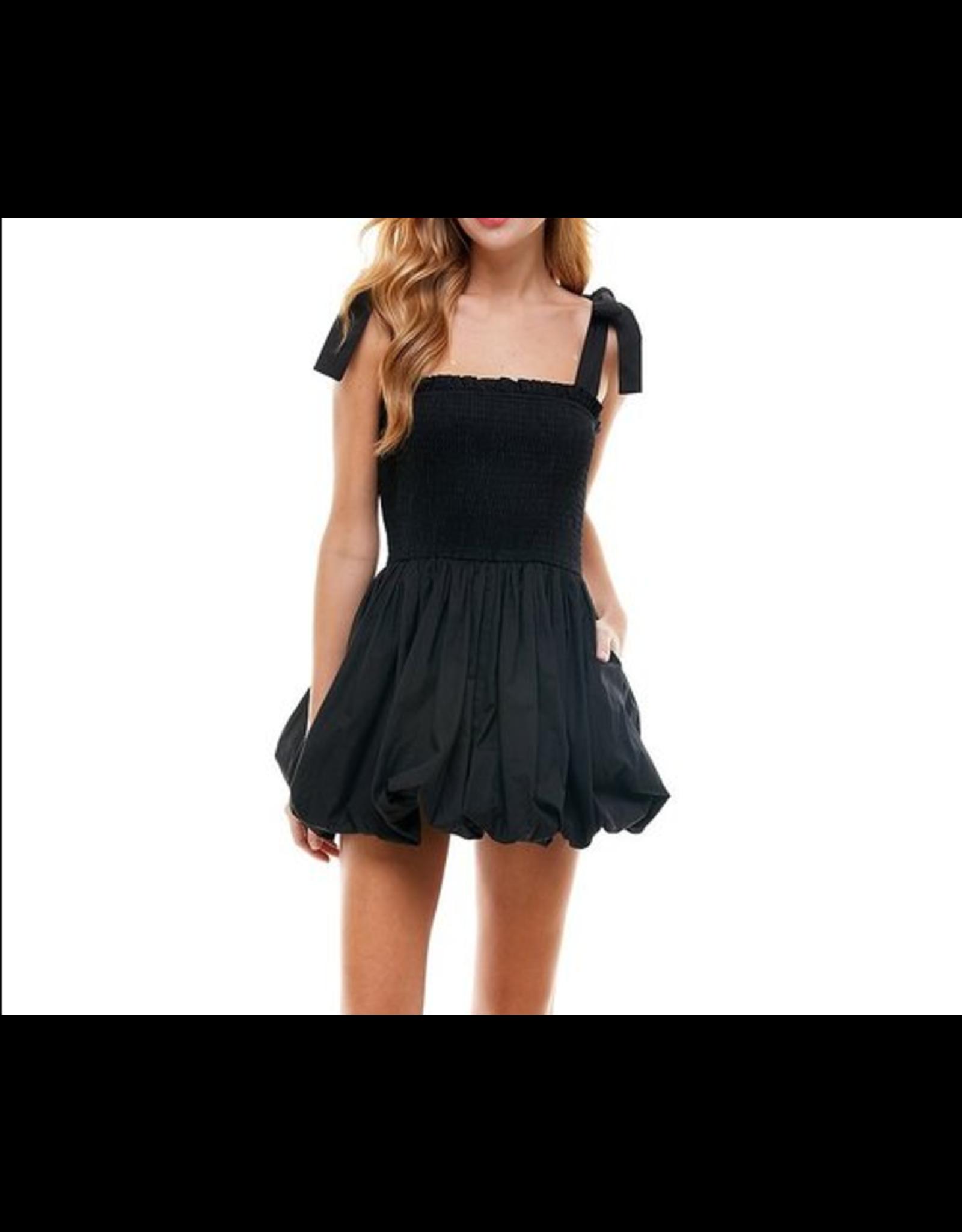 Bubble Dress - Black
