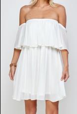 Off Shoulders Flowy Dress