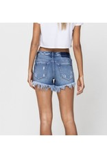 Vita  High Rise Denim Shorts