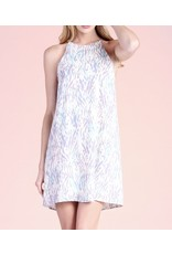 Spring Meadow Shift Dress - Coral