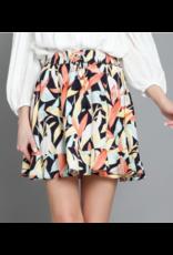 Tropical Skirt - Navy