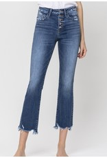 Zia High Rise Cropped Flare Jeans