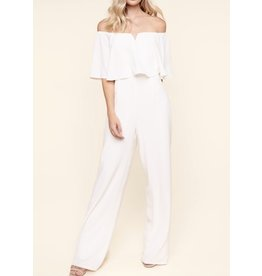 Sugarlips Cut Out Detail Jumpsuit - White