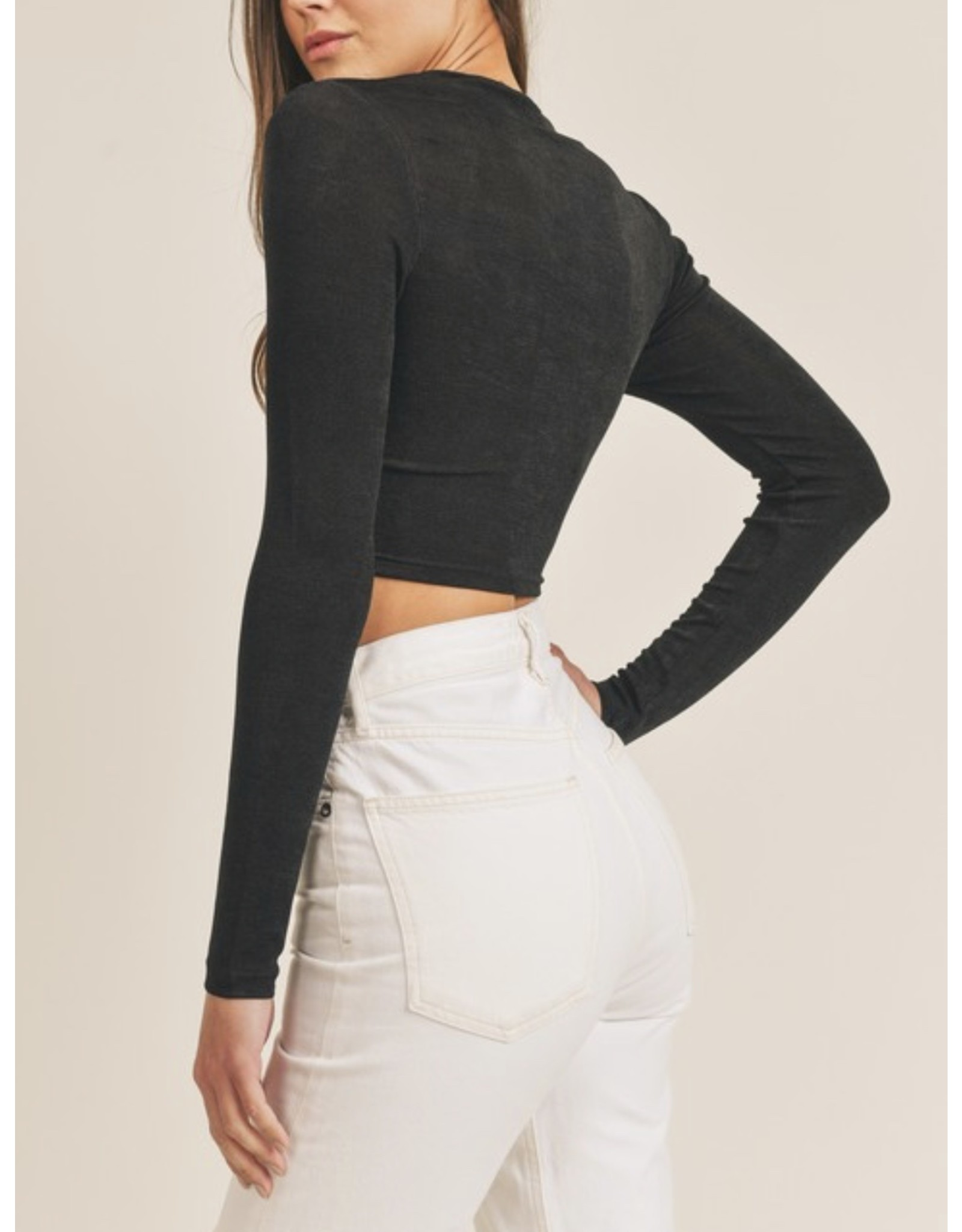 MABLE Twisted Cropped ToP