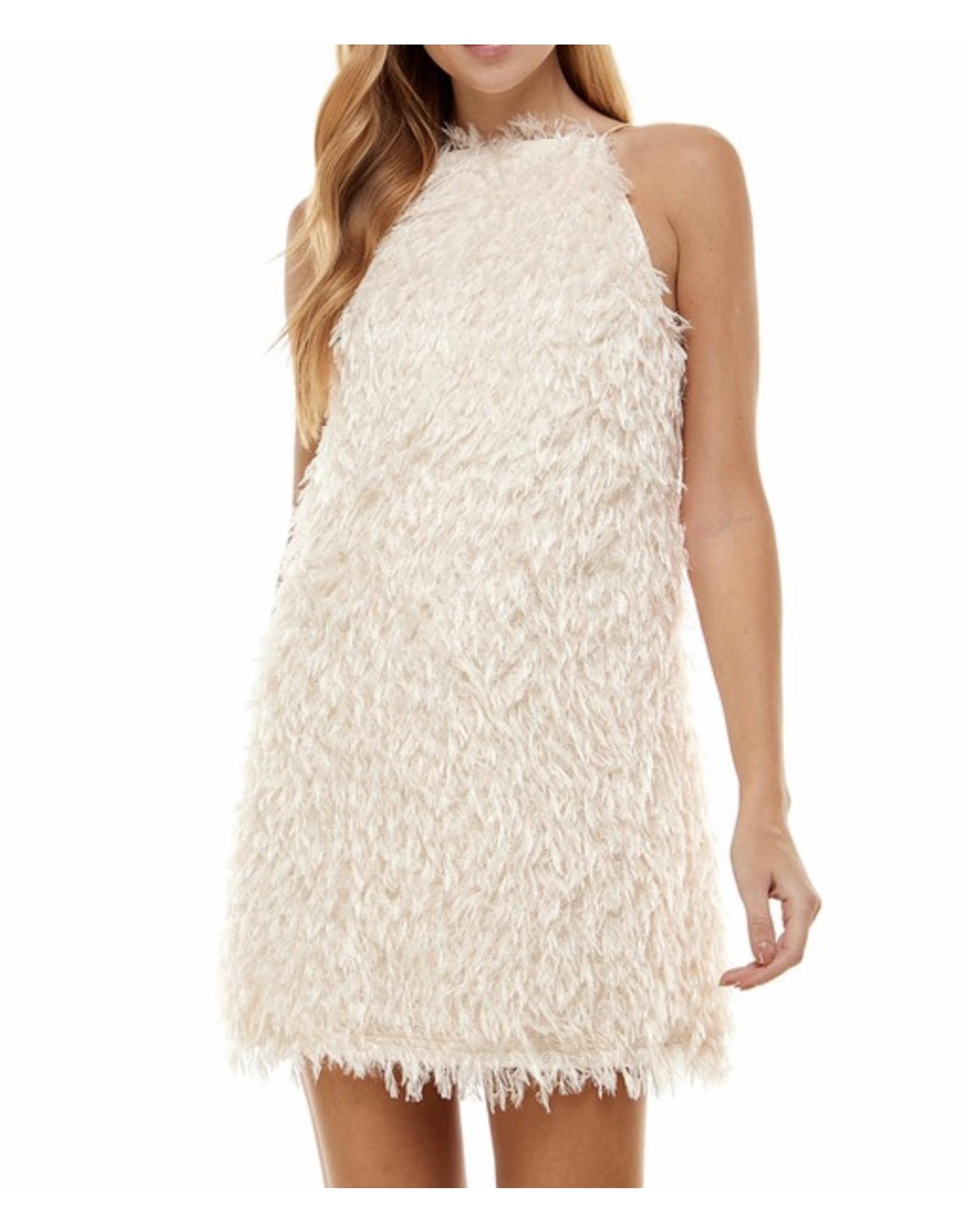 Shaggy Party Dress