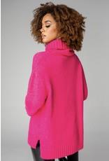 Karen Turtle Neck Sweater - Pink
