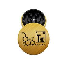 "Tahoe Grinder Hybrid 2.7"" 2 Piece - THC Molecule"