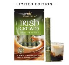 King Palm Hand-Rolled Leaf - 5 Mini Rolls (Irish Cream)