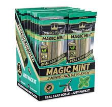 King Palm Hand-Rolled Leaf Magic Mint - 2 Slim Rolls