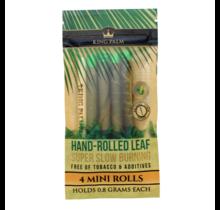 King Palm Hand-Rolled Leaf - 4 Mini Rolls