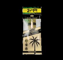 King Palm Hand-Rolled Leaf - 2 Mini Rolls