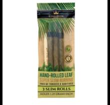 King Palm Hand-Rolled Leaf Slim 3 Pack